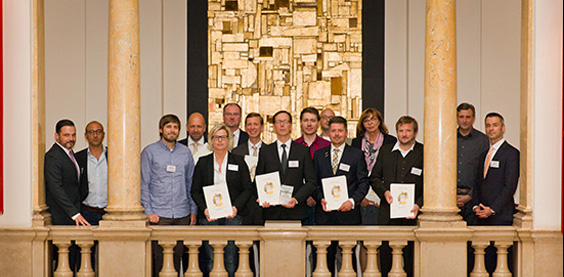 Gruppenbild Kunden-Innovationspreis 2014