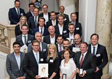 Gruppenbild Kunden-Innovationspreis 2015